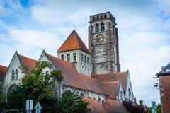 Saint Brise Church in Tournai, Belgium Stock Image