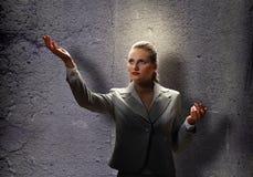Saint businesswoman Royalty Free Stock Photos