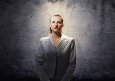 Saint businesswoman Royalty Free Stock Photo