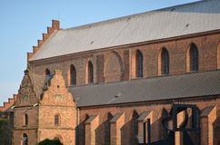 Saint Canute's Cathedral Stock Images