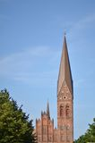 Saint Canute's Cathedral in ondense denmark Royalty Free Stock Photos