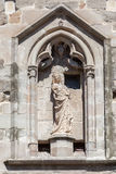 Saint in Carcassonne France Royalty Free Stock Image