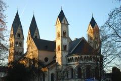 Saint Castor Church royalty free stock photography