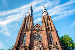 Saint Catharine Church in Eindhoven Royalty Free Stock Image
