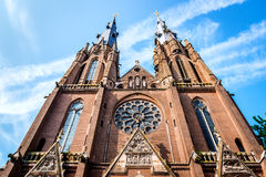 Saint Catharine Church em Eindhoven Fotos de Stock Royalty Free