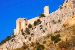 Saint Catherine Castle   in Jaen Stock Photography