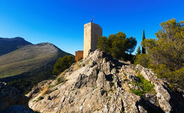 Saint Catherine Castle  in Jaen.  Spain Royalty Free Stock Images