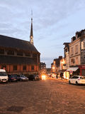 Saint Catherine Church in Honfleur, France Stock Photography