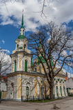 Saint Catherine Church in Parnu Stock Image