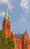 Saint Catherine church (1897) in Torun, Poland royalty free stock photography