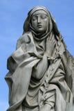 Saint Catherine de Sienne photo libre de droits