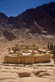 Saint Catherine Monastery Stock Photo