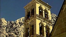 Sinai Saint Catherine Monastery bell tower stock video