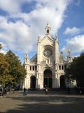 Saint Catherine's Church, Brussels Stock Photography