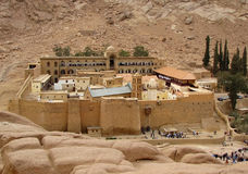 Saint Catherine's Monastery Royalty Free Stock Photography