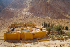 Saint Catherine's (Monastery). Saint Catherine's on the Sinai Peninsula in Egypt 2010 Royalty Free Stock Photography
