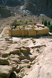 Saint Catherine's Monastery. One of the oldest continuously functioning Christian monasteries in the world, Sinai Peninsula, Egypt Stock Images