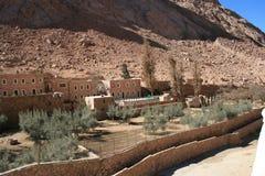 Saint Catherine's Monastery Stock Image