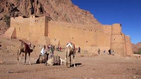 Saint Catherines Monastery. Sinai Peninsula. Egypt Stock Photography