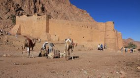 Saint Catherines Monastery. Sinai Peninsula. Egypt Royalty Free Stock Photos