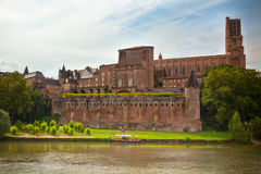 Saint Cecile church in the city of Albi, France Royalty Free Stock Photo