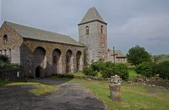 Saint-Chély-d'Aubrac, France Stock Image