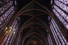 Saint Chapelle Royalty Free Stock Photo