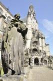 Saint Charles Borromeo church, Antwerp Belgium Stock Photography