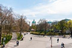 Saint Charles's Church (Wiener Karlskirche) Royalty Free Stock Photos
