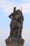Saint Christopher statue Royalty Free Stock Photos
