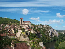 Saint-Cirq-Lapopie Royalty Free Stock Photo