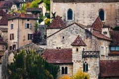 Saint Cirq Lapopie Fotografia de Stock Royalty Free