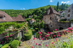 Saint Cirq Lapopie in Lot, France Royalty Free Stock Photography
