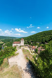 Saint Cirq Lapopie in Lot, France Royalty Free Stock Photo