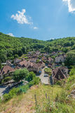Saint Cirq Lapopie in Lot, France Stock Images