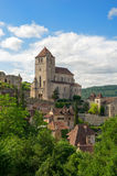 Saint-cirq-Lapopie Royalty Free Stock Image