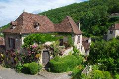 Saint-cirq-Lapopie Royalty Free Stock Photography