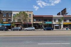 Saint Clair Avenue West Royalty Free Stock Photos