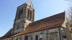 SAINT-CLAIR kościół W HEROUVILLE Zdjęcie Royalty Free