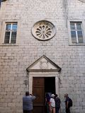 Saint Claire Church, Kotor, Montenegro royalty free stock photography