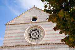 Saint Clare, Assisi royalty free stock images