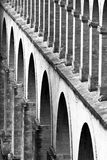 Saint Clement Aqueduct, Montpeller, France. Royalty Free Stock Photography