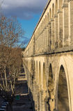 Saint Clement Aqueduct in Montpellier, France Stock Photography