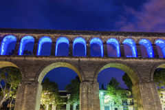 Saint Clement Aqueduct in Montpellier Royalty Free Stock Photography
