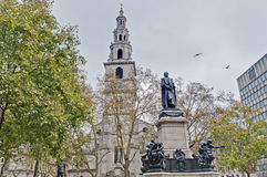 Saint Clement Danes church at London, England Stock Photos