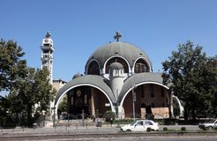 Saint Clement orthodox church, Skopje Macedonia Royalty Free Stock Image