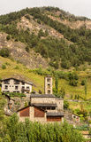 Saint Climent church in Pal, Andorra royalty free stock photos
