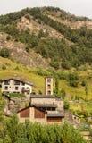 Saint Climent church in Pal, Andorra Royalty Free Stock Photos