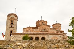 Saint Climent and Panteleimon Church in Ohrid Royalty Free Stock Images