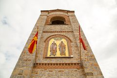 Saint Climent and Panteleimon Church in Ohrid Stock Photography